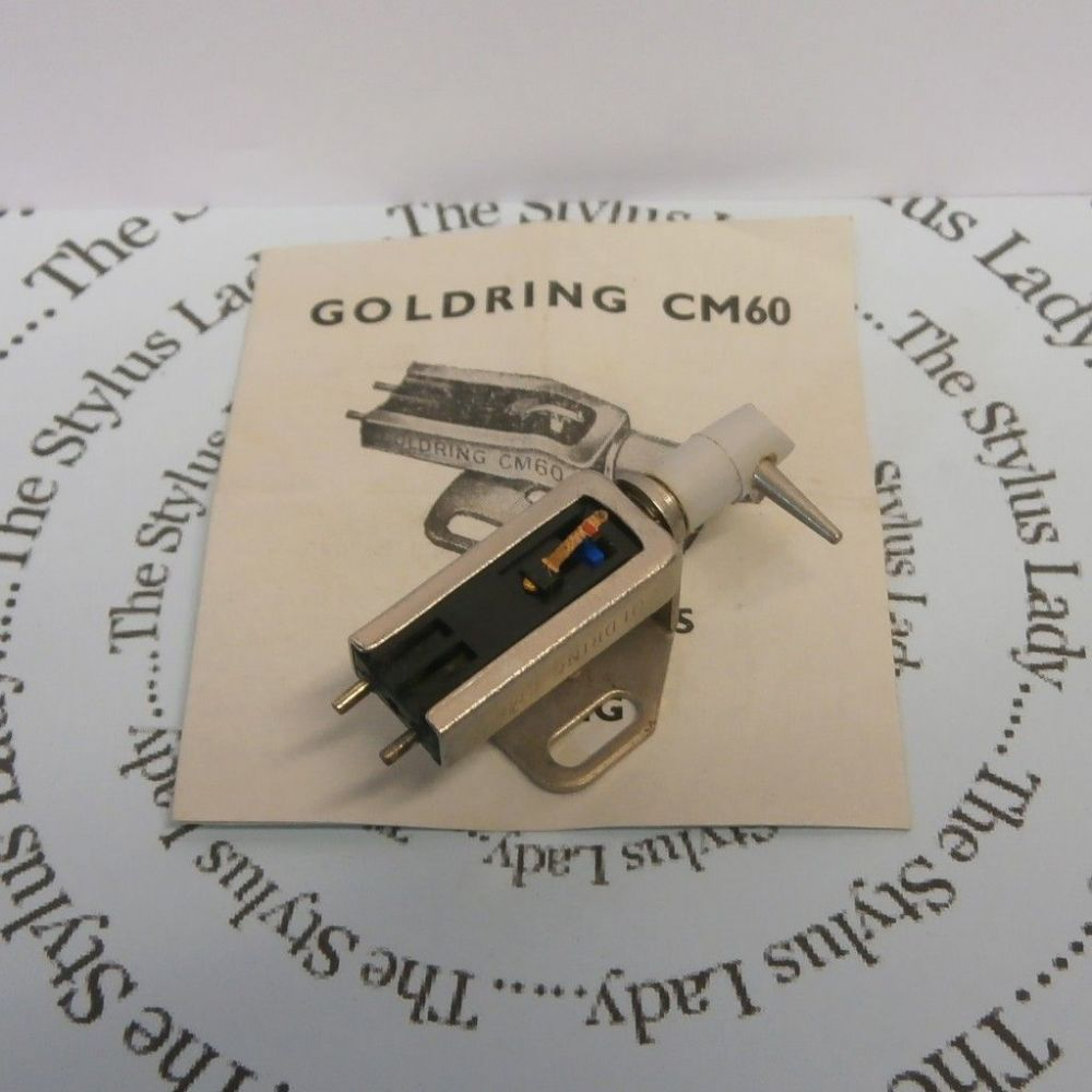 Goldring CM60 Ceramic Cartridge, Original NOS